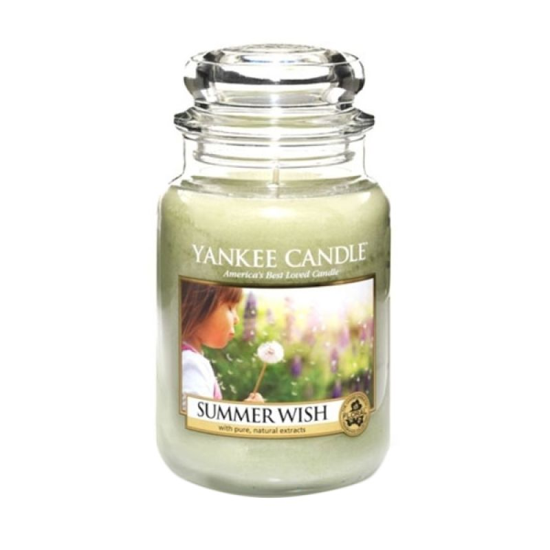 Yankee Candle Jar Large Summer Wish Lilin Aromaterapi