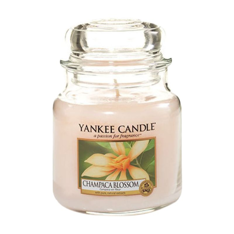 Yankee Candle Jar Medium Champaca Blossom Lilin Aromaterapi