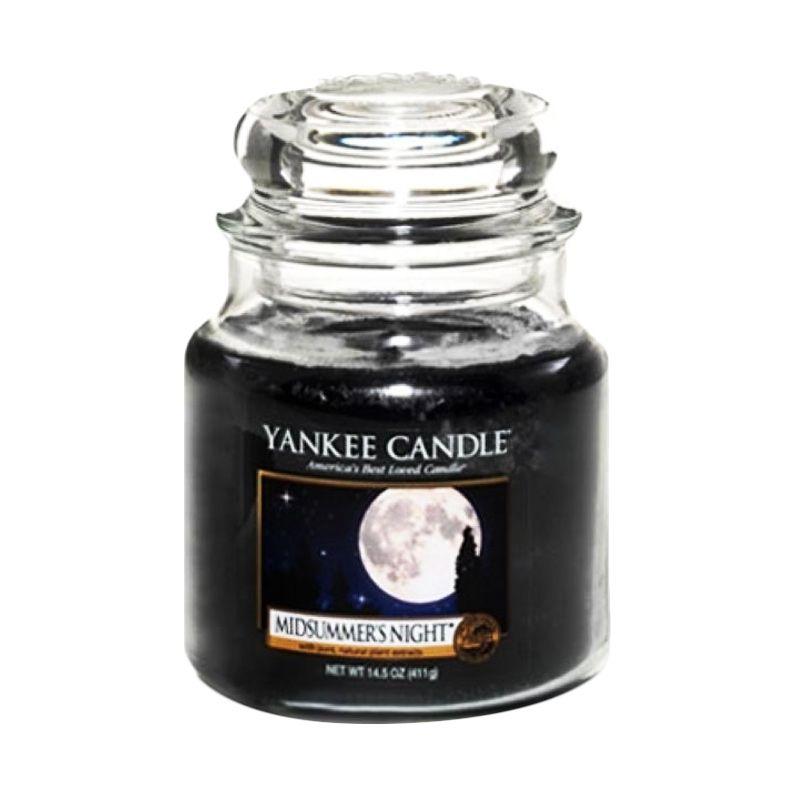 Yankee Candle Jar Medium Midsummer Night Lilin Aromaterapi