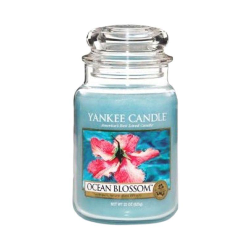 Yankee Candle Jar Medium Ocean Blossom Lilin Aromaterapi