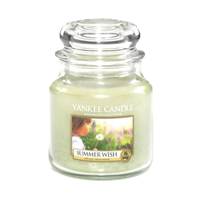 Yankee Candle Jar Medium Summer Wish Lilin Aromaterapi