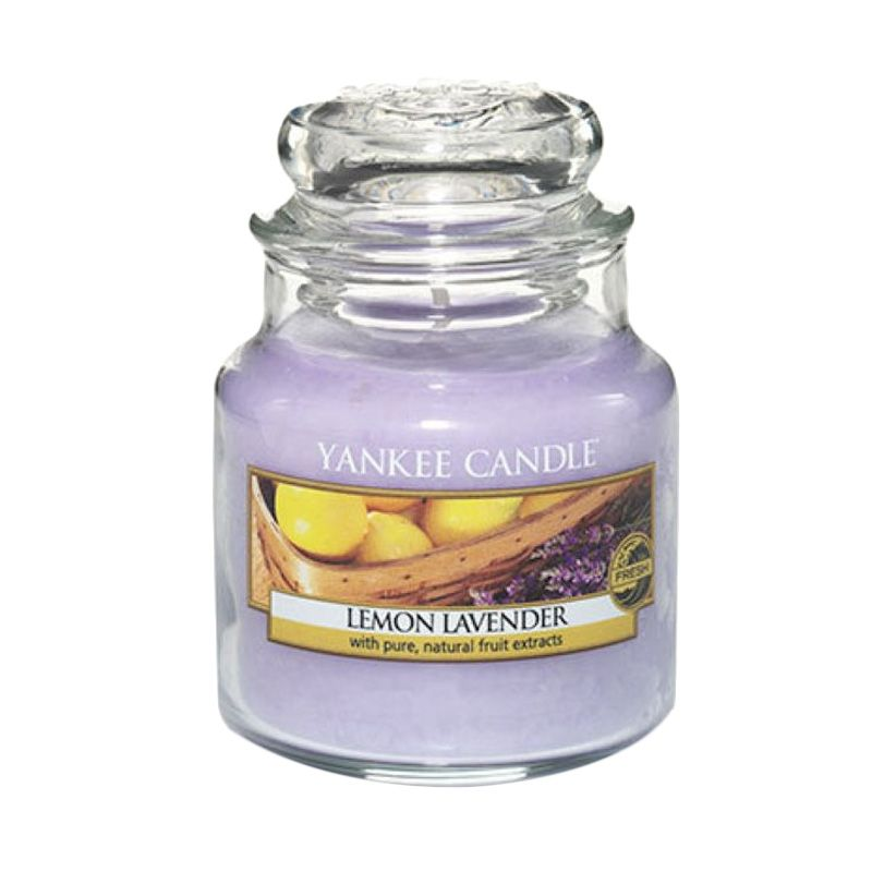 Yankee Candle Jar Small Lemon Lavender Lilin Aromaterapi
