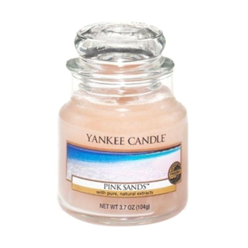 Yankee Candle Jar Small Pink Sand Lilin Aromaterapi