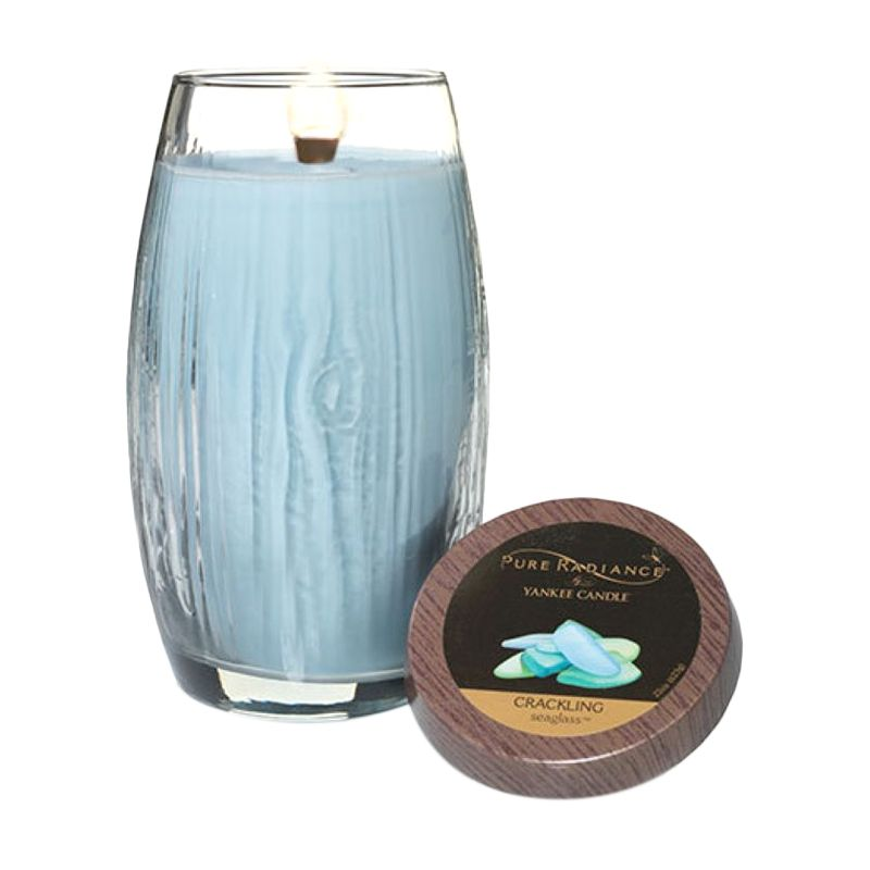 Yankee Candle Pure Radiance Sea Glass Lilin Aromaterapi [Large]