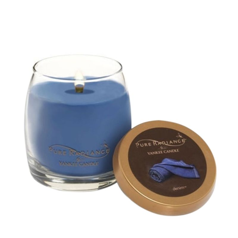 Yankee Candle Pure Radiance  Denim Lilin Aromaterapi [Small]