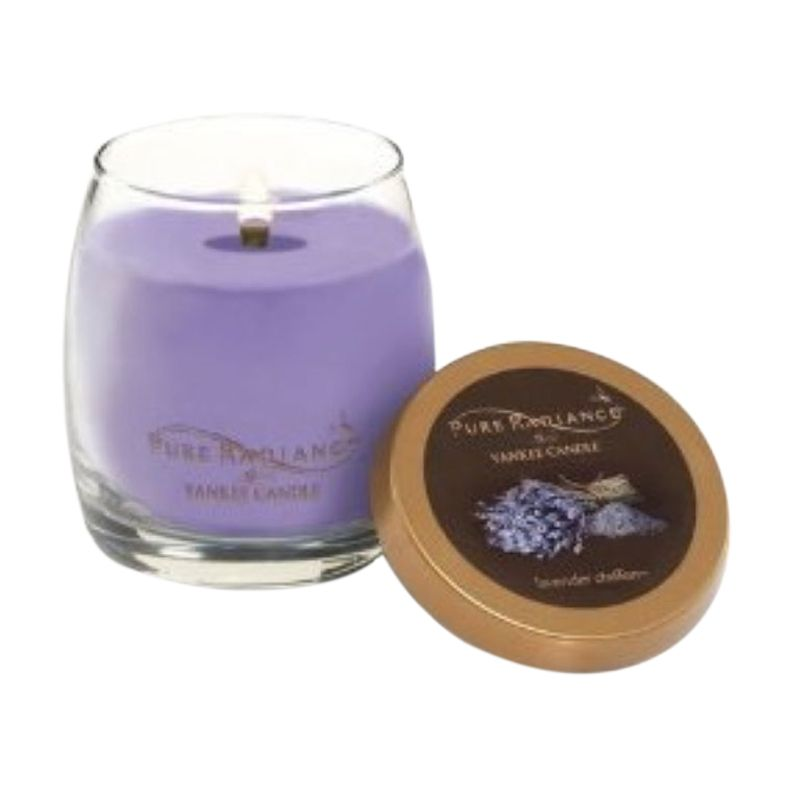 Yankee Candle Pure Radiance Lavender Chiffon Lilin Aromaterapi [Small]