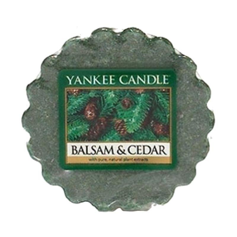Yankee Candle Tart Balsam and Cedar Lilin Aromaterapi