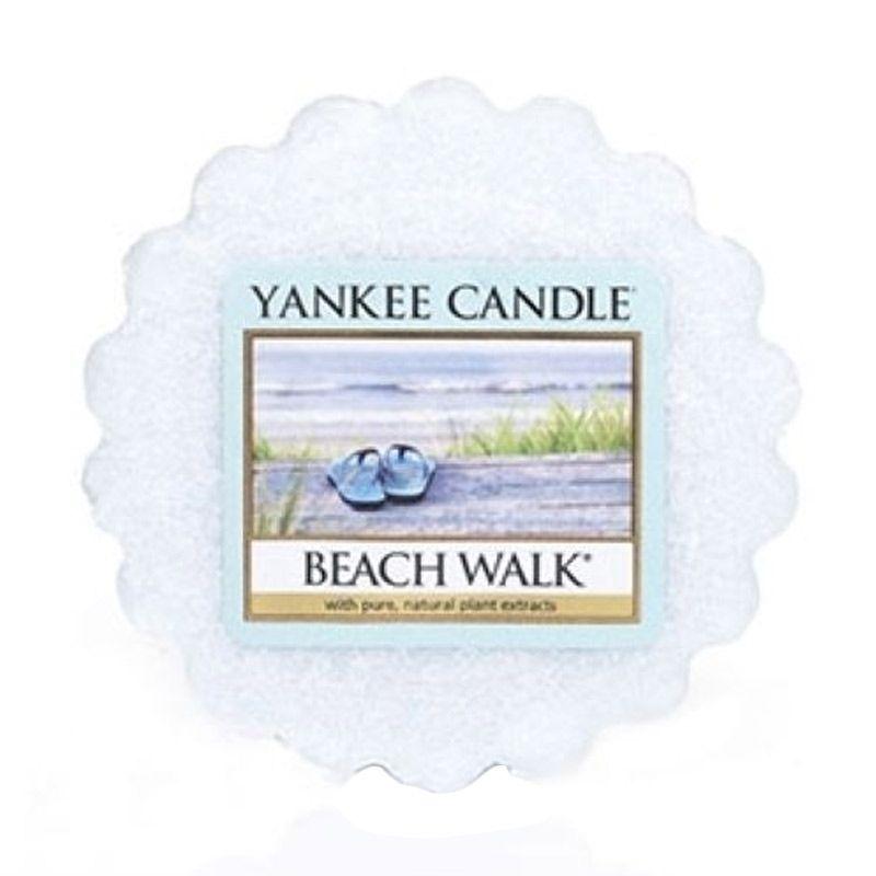 Yankee Candle Tart Beach Walk Lilin Aromaterapi
