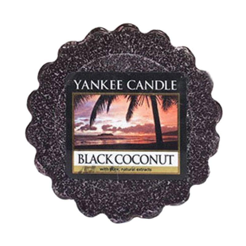 Yankee Candle Tart Black Coconut Lilin Aromaterapi