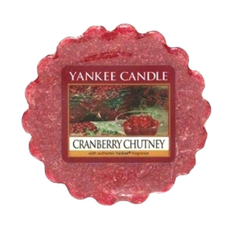 Yankee Candle Tart Cranberry Chutney Lilin Aromaterapi