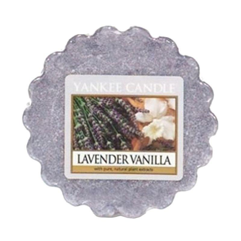 Yankee Candle Tart Lavender Vanilla Lilin Aromaterapi