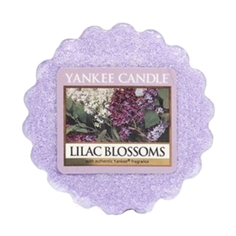 Yankee Candle Tart Lilac Blossoms Lilin Aromaterapi