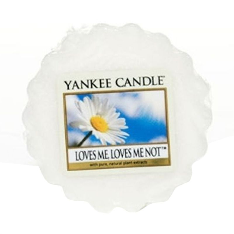 Yankee Candle Tart Loves Me Lilin Aromaterapi