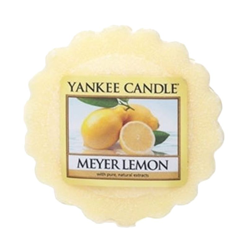 Yankee Candle Tart Meyer Lemon Lilin Aromaterapi