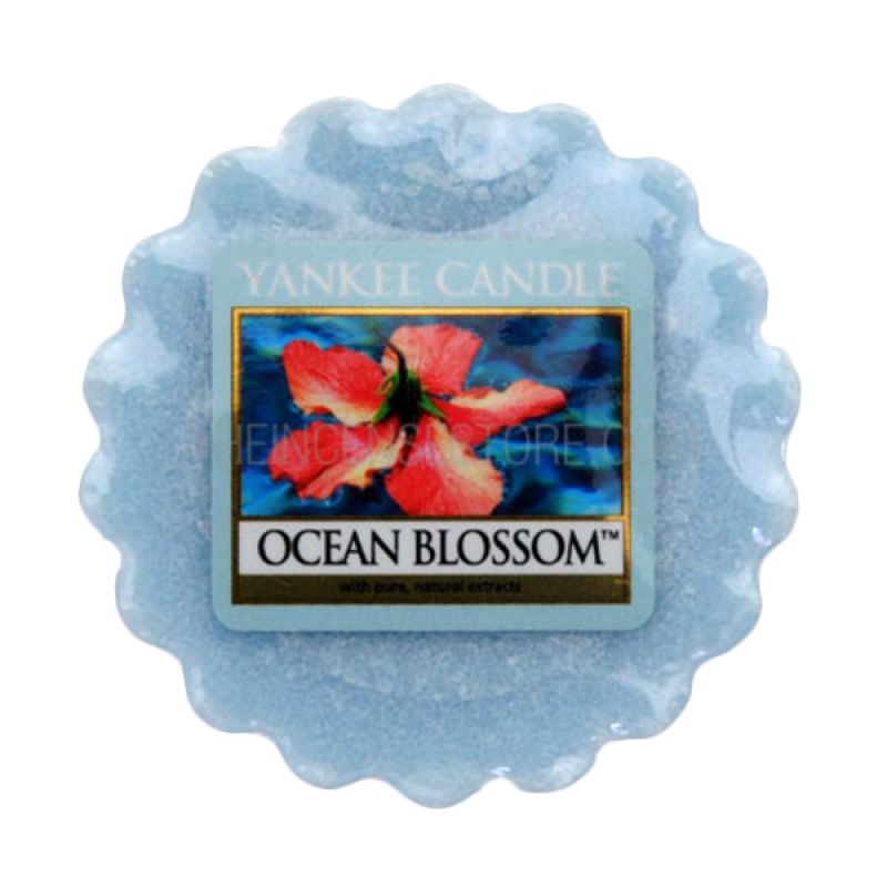 Yankee Candle Tart Ocean Blossom Lilin Aromaterapi
