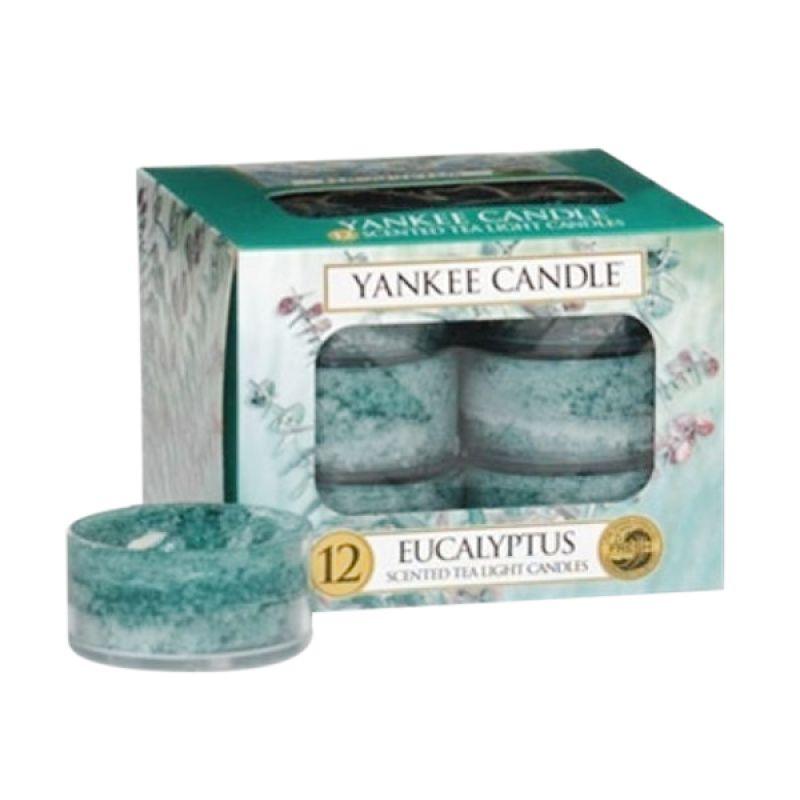 Yankee Candle Tealight Eucalyptus Lilin Aromaterapi