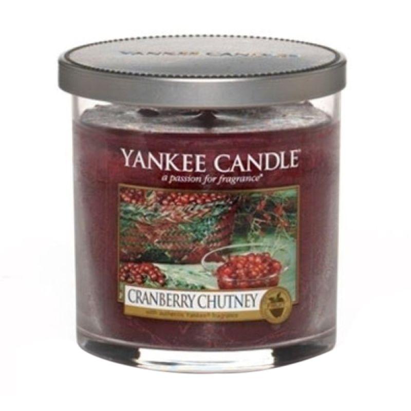 Yankee Candle Tumbler Cranberry Chutney Lilin Aromaterapi