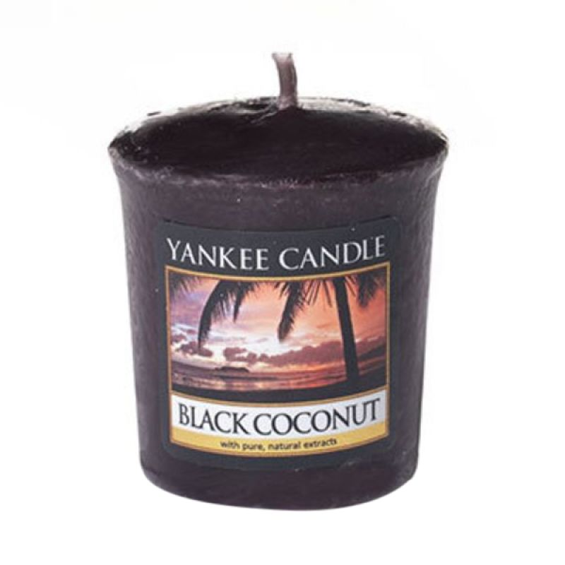 Yankee Candle Votive Black Coconut Lilin Aromaterapi