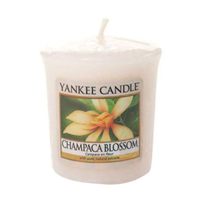 Yankee Candle Votive Champaca Blossoms Lilin Aromaterapi