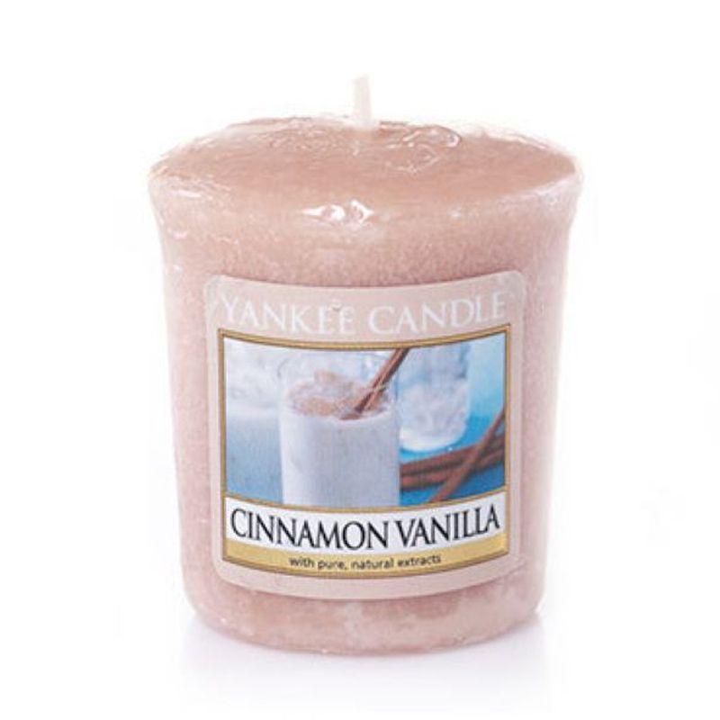 Yankee Candle Votive Cinnamon Vanilla Lilin Aromaterapi