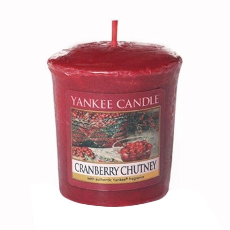 Yankee Candle Votive Cranberry Chutney Lilin Aromaterapi