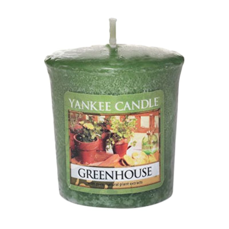 Yankee Candle Votive Green House Lilin Aromaterapi
