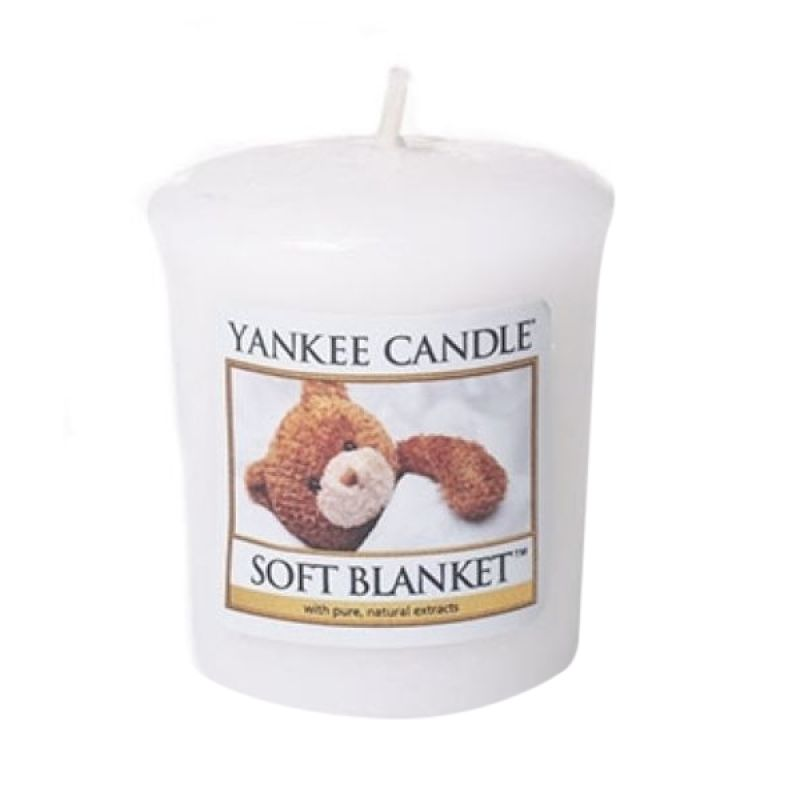 Yankee Candle Votive Soft Blanket Lilin Aromaterapi