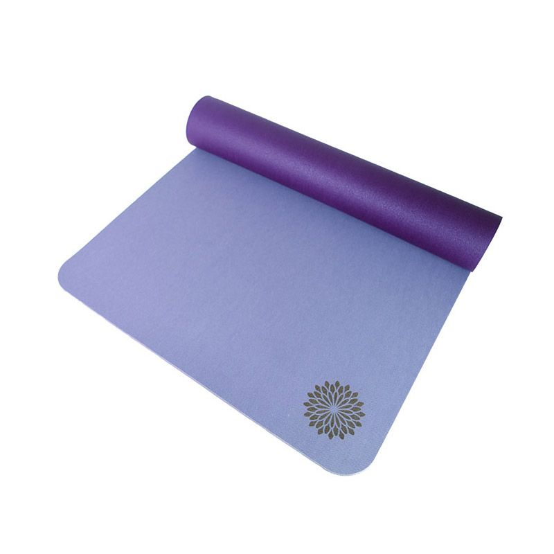 Easyoga Natural Rubber Dark and Light Purple Matras Yoga