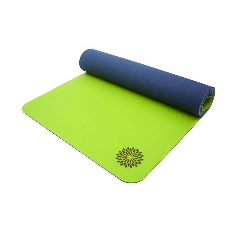 Easyoga Natural Rubber Green Grey Matras Yoga