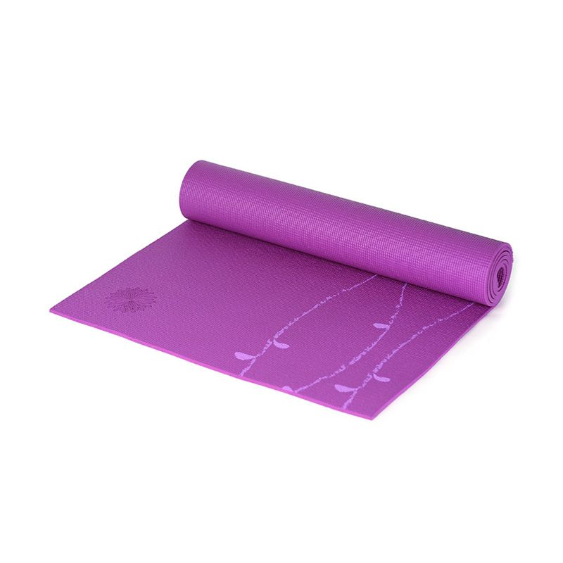 Easyoga Premium Nadi Vines Light Purple Matras Yoga