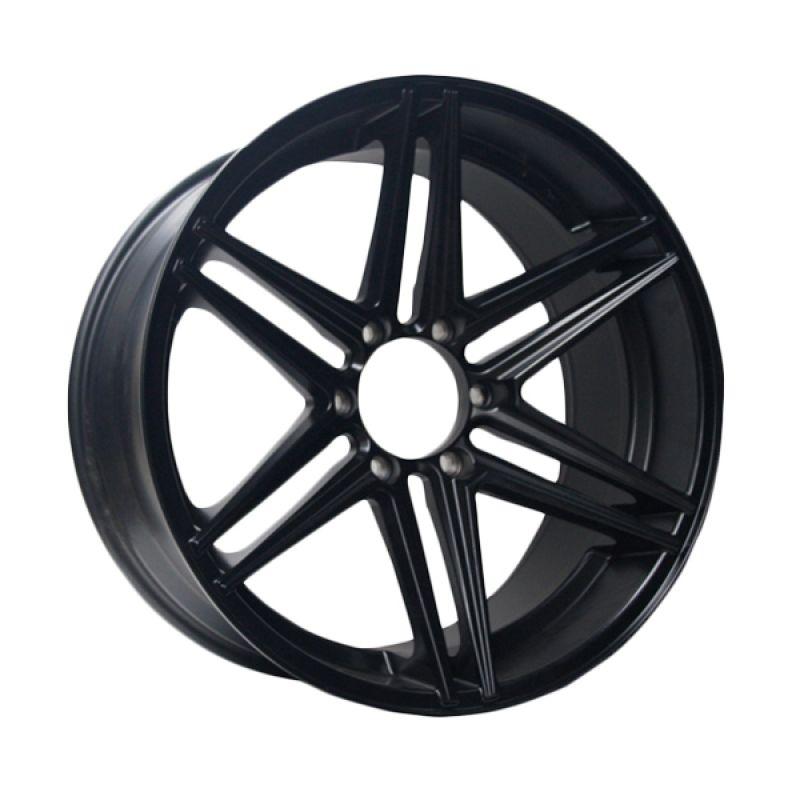 Advanti Racing SM 22 MB Matt Black Velg Mobil [20 x 9.5 Inch]