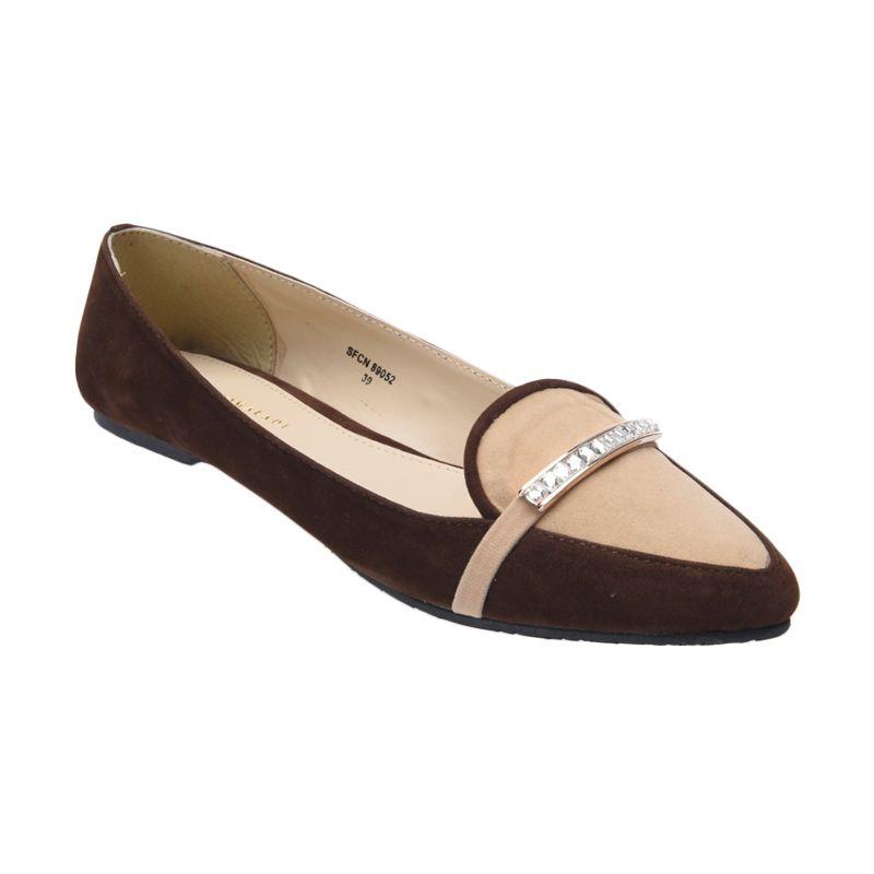 Yongki Komaladi SFCN 89052 Coklat Sepatu Wanita