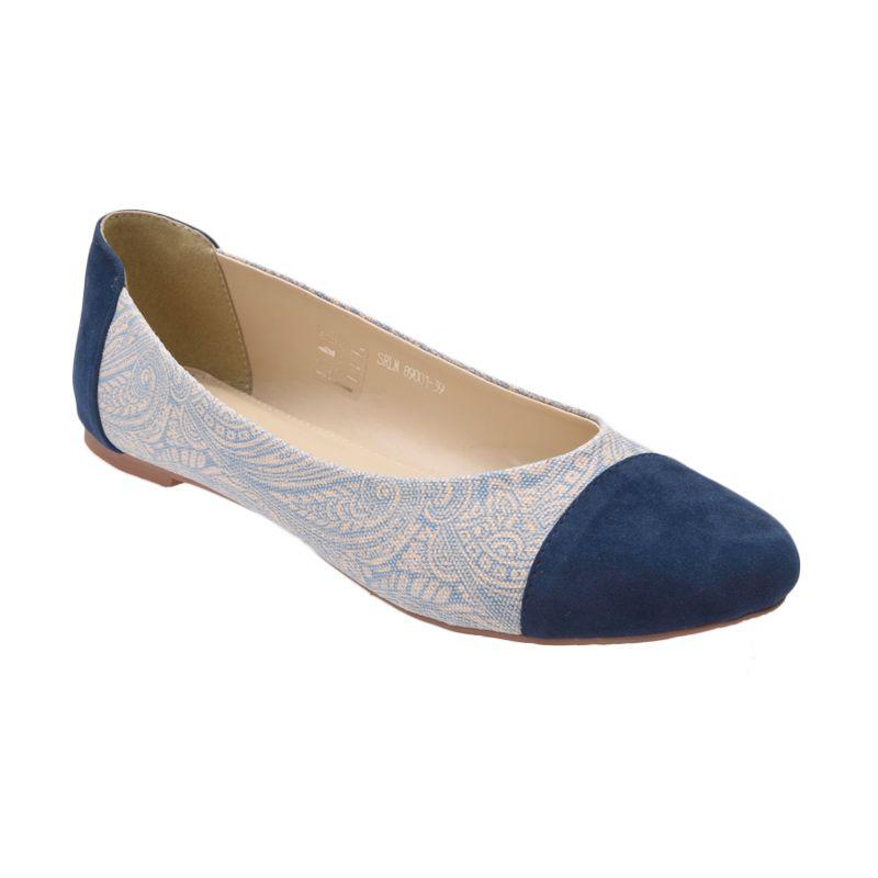 Yongki Komaladi SRLN 89001 Biru Sepatu Wanita