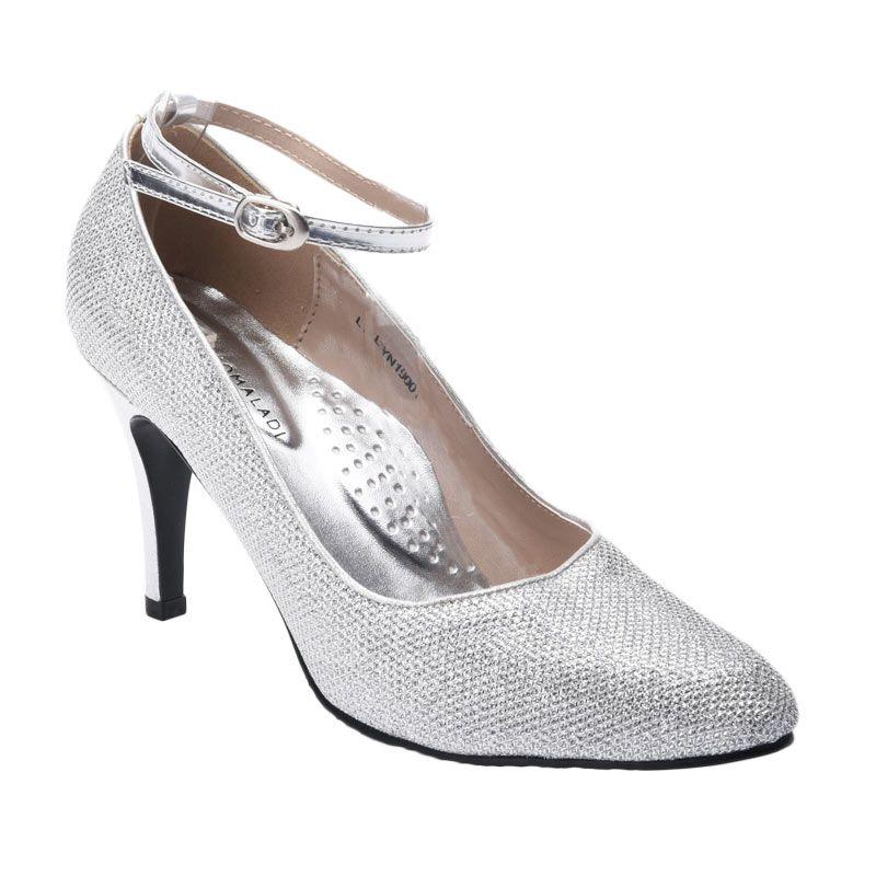 Yongki Komaladi SSYN 19001 Silver Sepatu Wanita
