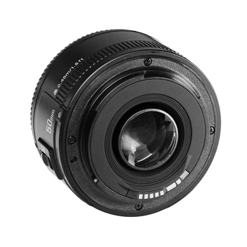 harga YongNuo Lensa EF YN 50mm F1.8 for Canon [Untuk Bokeh] Blibli.com