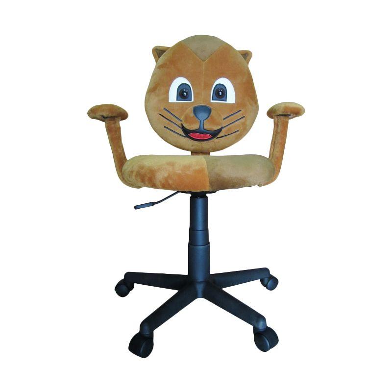 Ergosit Cartoon Kitty Coklat Kursi