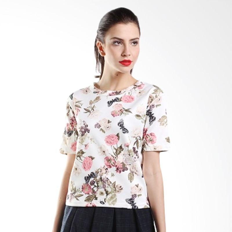 Yuka Fashion 2015158 Putih Atasan Wanita