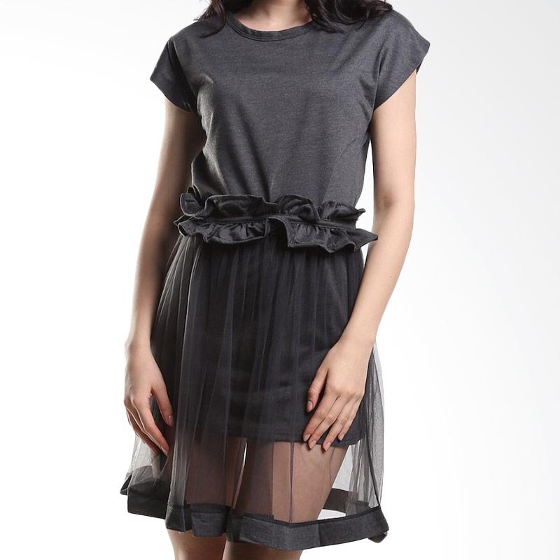 harga Yuka Fashion 2015194 Kaos Baju Wanita Import Korea Dress - Abu Blibli.com
