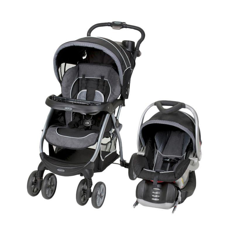 Baby Trend Encore Lite Travel System Archway Black Kereta Dorong Bayi