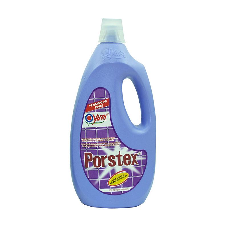 harga Groceries - Yuri Porstex Porcelain dan Ceramic Cleaner Botol - Ungu [1000 mL] Blibli.com