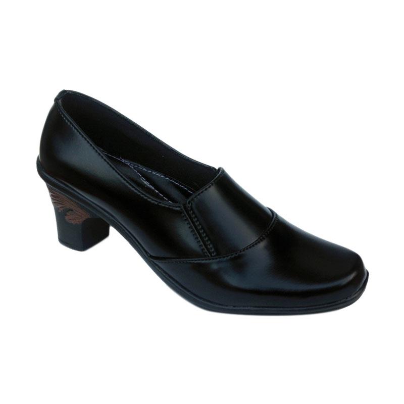 Yutaka Vrant Trand Sepatu Kerja Wanita - Hitam
