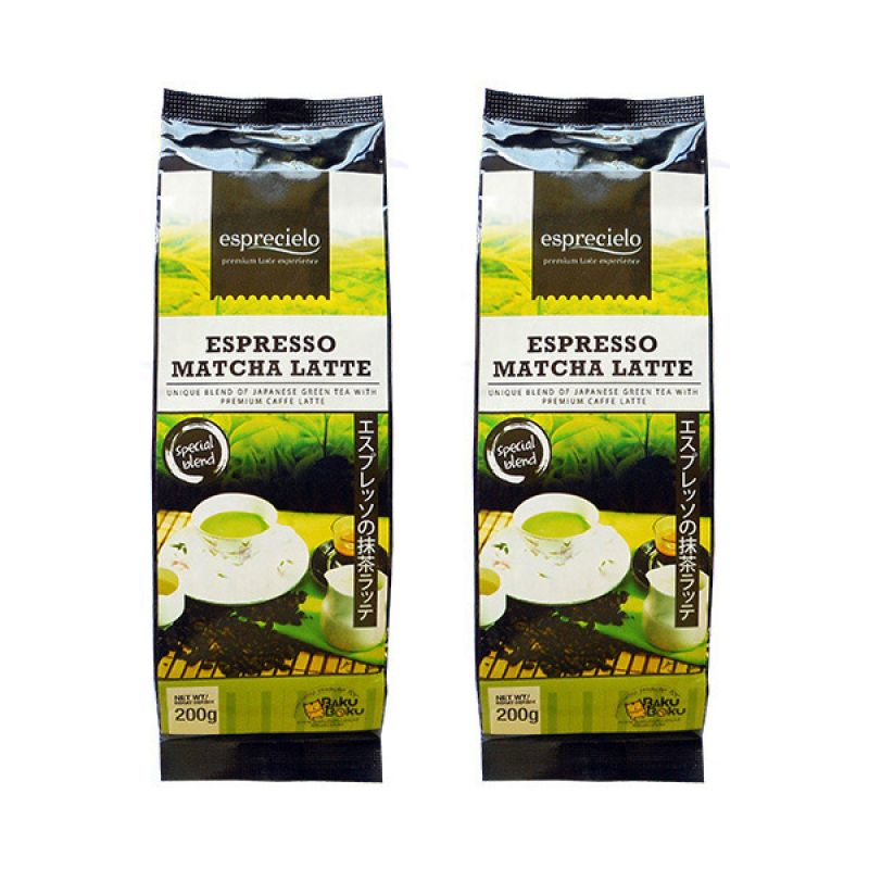 Esprecielo Special Blend Espresso Matcha Latte Duo Teh [2 Bag]