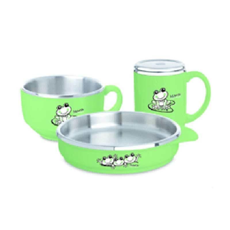 Zebra 184117 Lovely Set Green Set Peralatan Makan