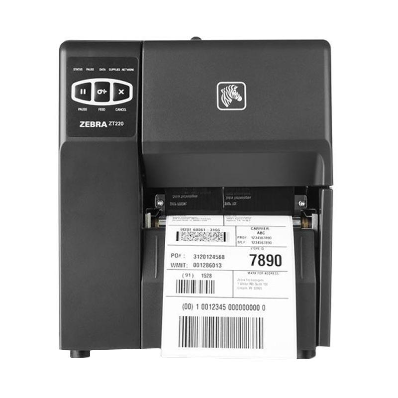 harga Zebra ZT220 Printer Barcode [Thermal Transfer/203 DPI] Blibli.com