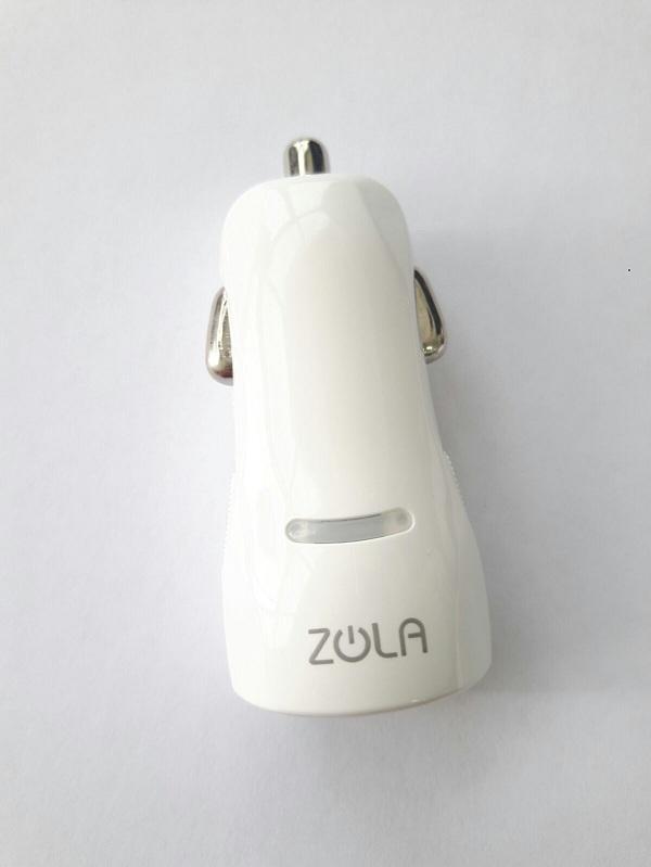 Zola zDash 12 White Car Charger