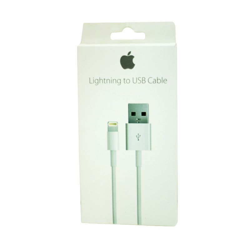 Apple White Kabel Data for iPhone 5