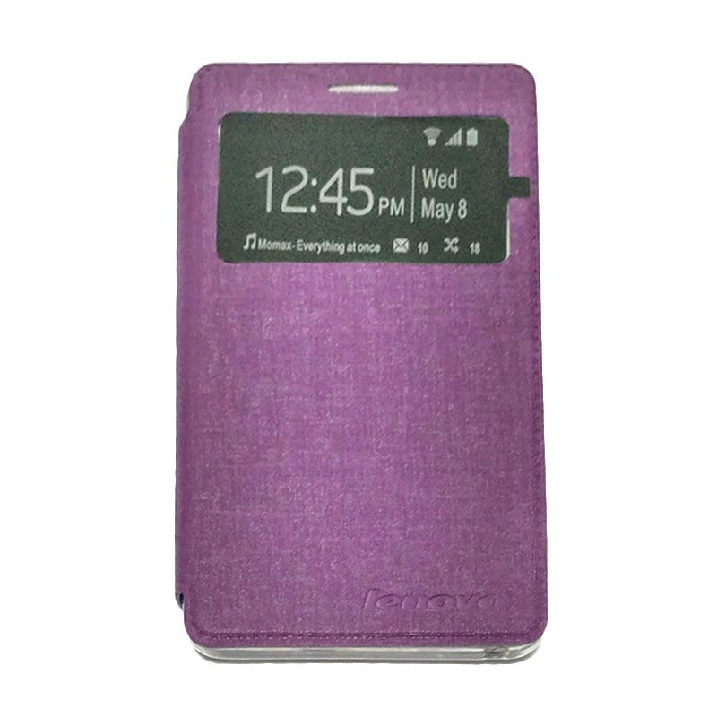 Zona Accessories Vip Book Ungu Casing for Lenovo A7000