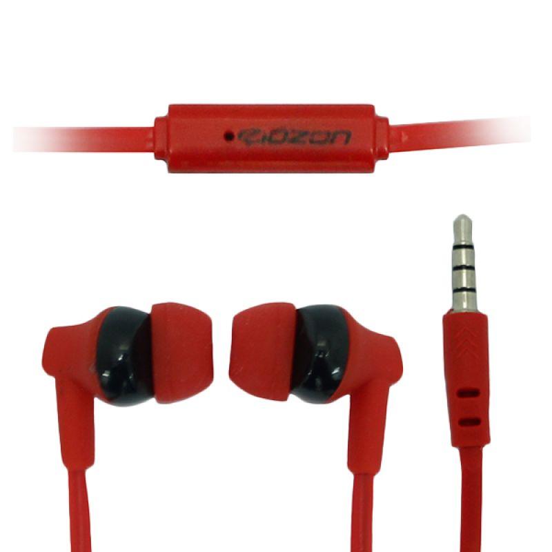 ZONA Ozon Red Earphone for Nokia N19/N95