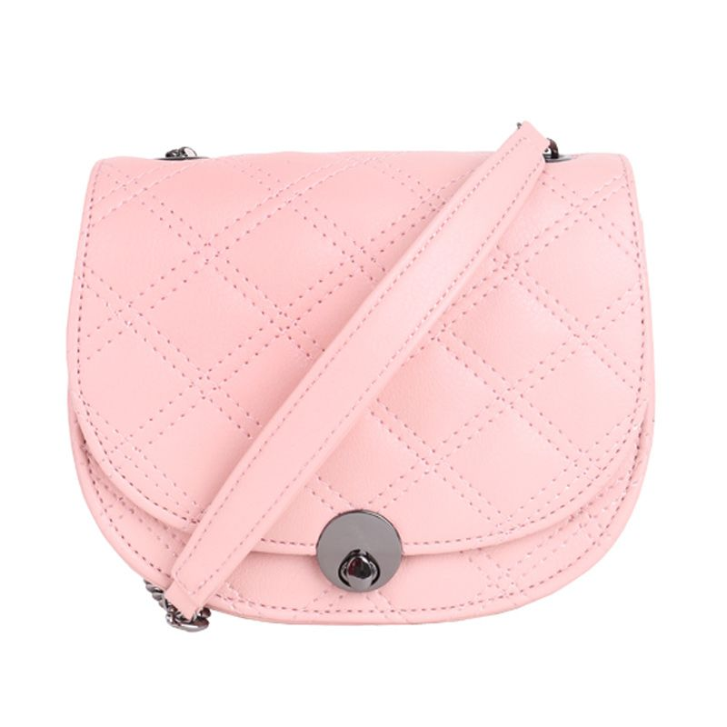 Bagquire Quilla Pink Sling Bag