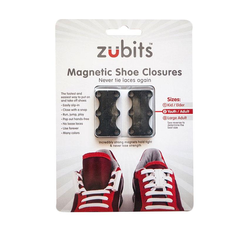 Jual Zubits Magnet Tali Sepatu - Hitam [Size 3] Terbaru - Harga Promo September 2019